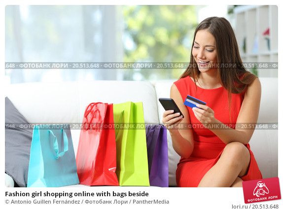 fashion-girl-shopping-online