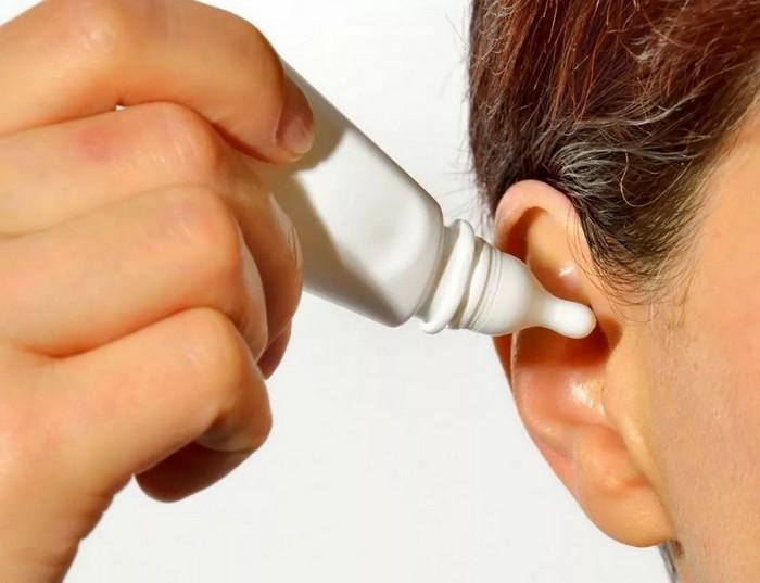 промывание уха дома