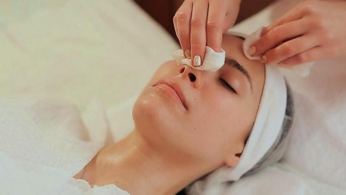 дезинфекция кожи перед процедурой