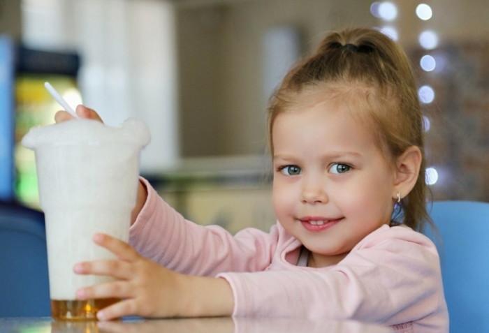 кислородный коктейль для ребенка